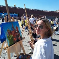 Рисуем Покровский собор
