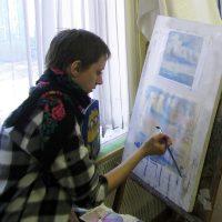 Основные приемы акварельной живописи